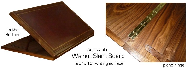 Walnut Slant Board