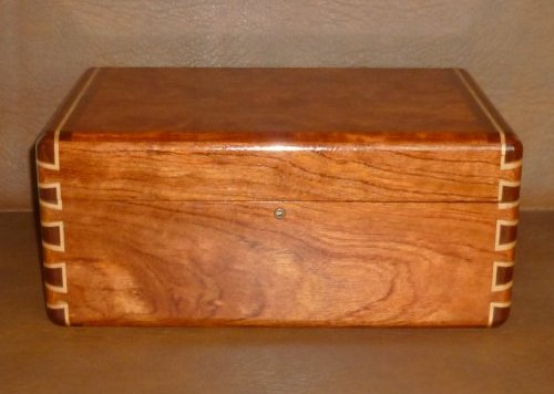 Bubinga Writing Slope 1