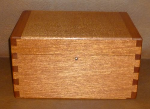 Mahogany Writing Slope 1