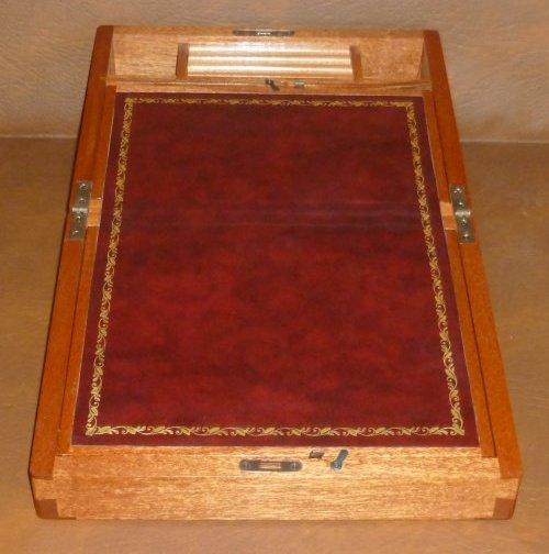 Mahogany Writing Slope 3