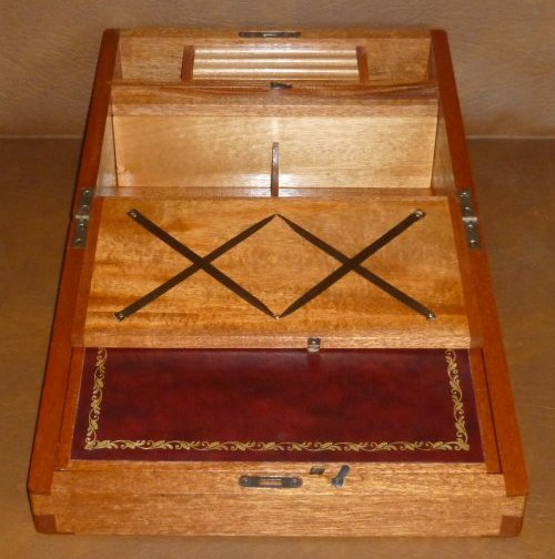 Mahogany Writing Slope 4