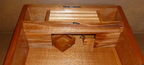 Mahogany Writing Slope 7