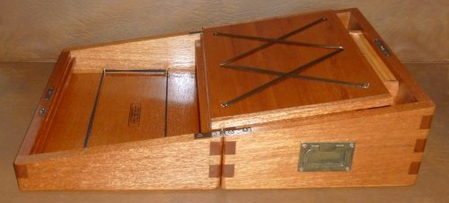 Mahogany Writing Slope 8